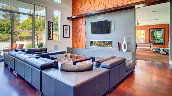 Living Room 3D Wall Decor