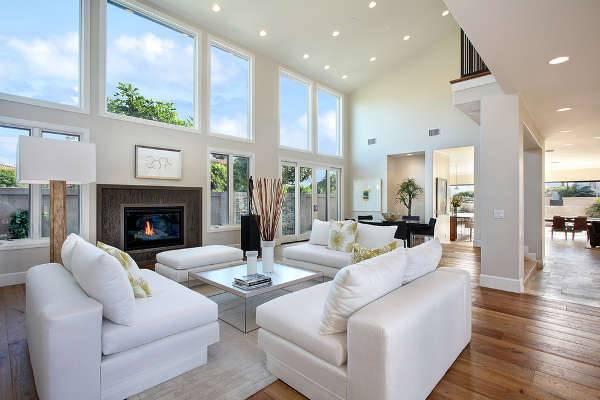 Living Room Led Lighting Idea