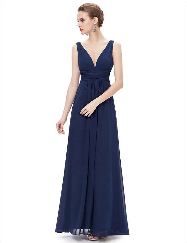 long maxi formal dress