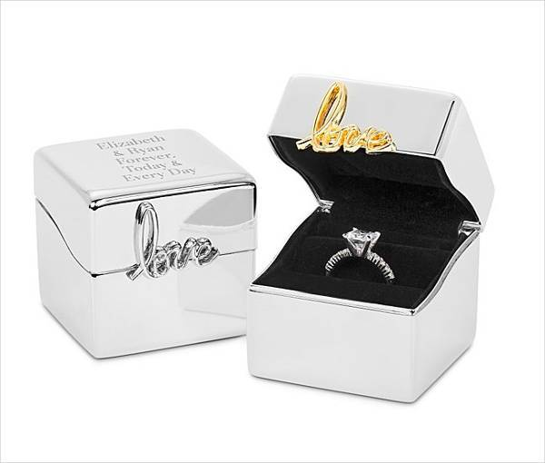 Love Always Ring Boxes
