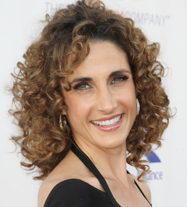 Melina Kanakaredes Short Curly Haircuts for Women