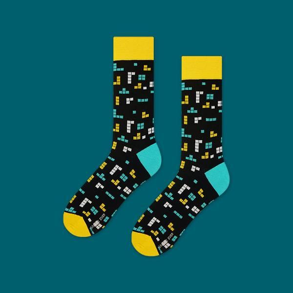 men's patterned socks