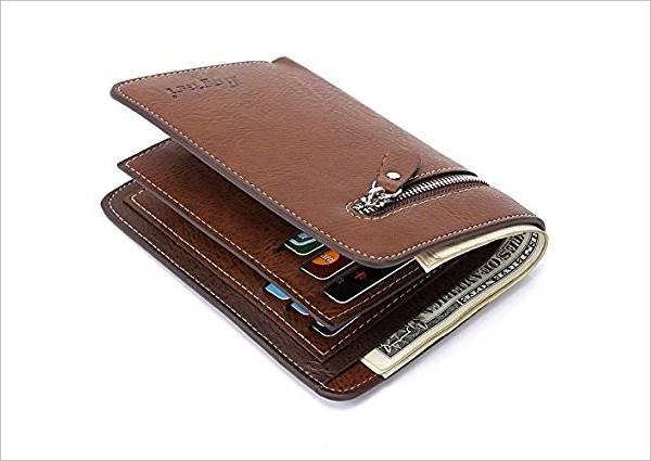 Men's Bifold Western Wallet