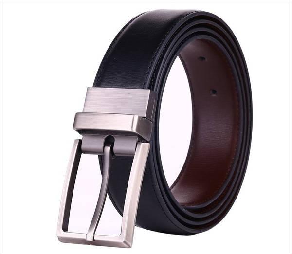 Men's Leather Dress Belt Design