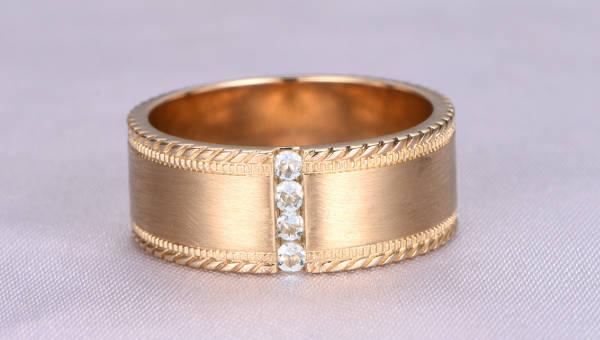 13 Mens Wedding Ring Designs Trends Models Design Trends