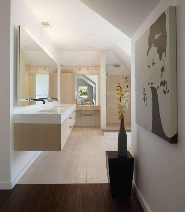 Modern Floating Small Bathroom Vanity