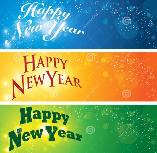 New Year Banner Designs