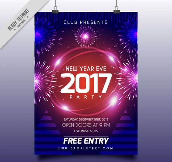 New Year Brochure Designs