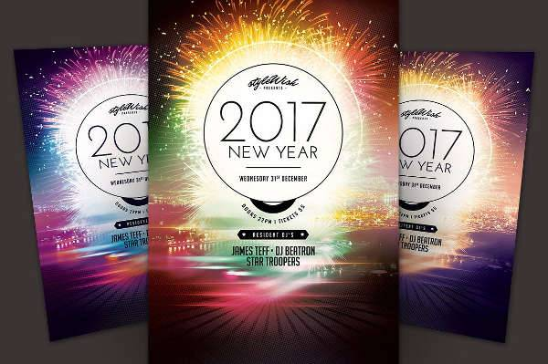 New Year Flyer Designs