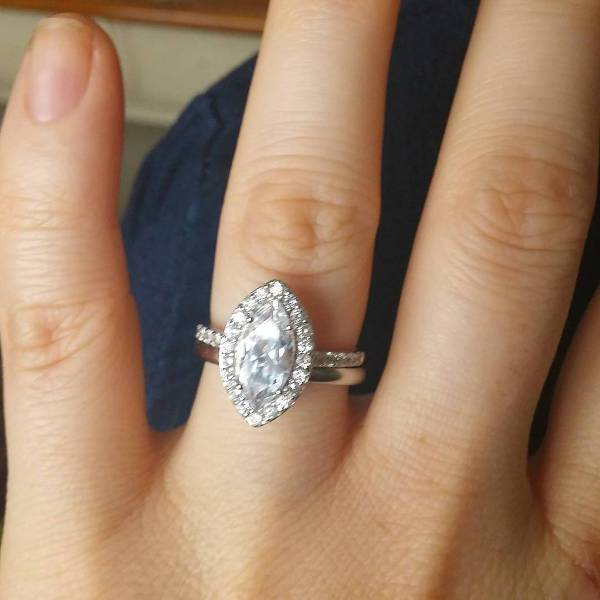 Nice Marquise Diamond Ring