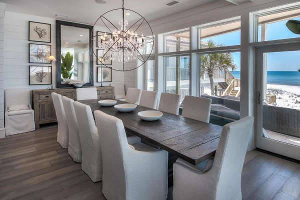 orb dining room chandelier designs