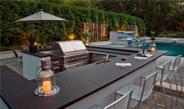 Outdoor Kitchen Bar Design