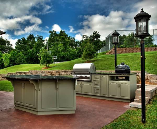 Outdoor Kitchen Cabinet Designs
