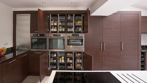 Nice Modern Pantry Cabinet Designs