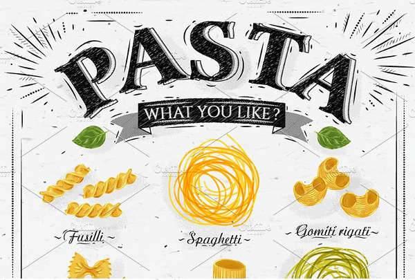 Pasta Poster Design