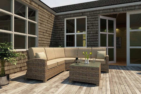 patio sectional sofas