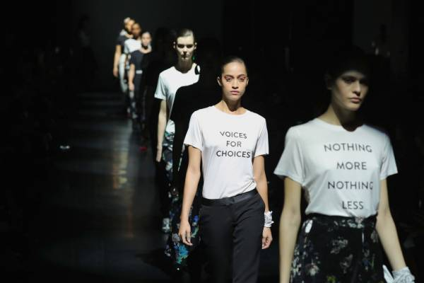 Political Statements on the Runway