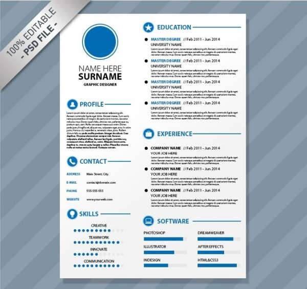 professional resume designs