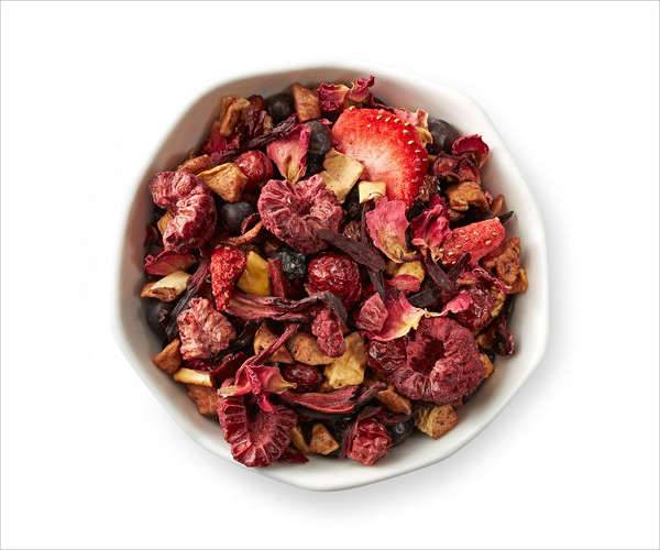 raspberry balsamico herbal tea by teavana