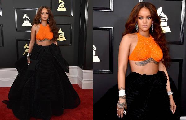 Rihanna in Armani Privé