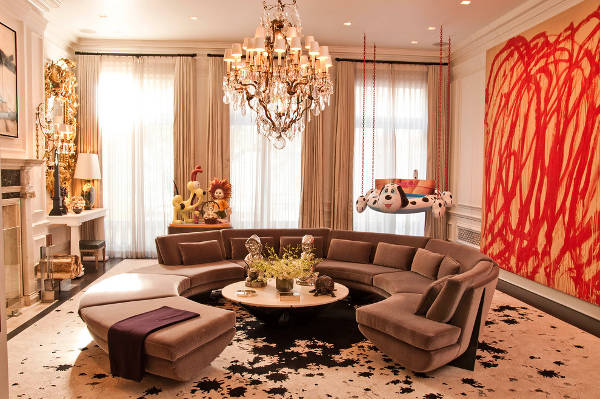 round sectional sofa designs