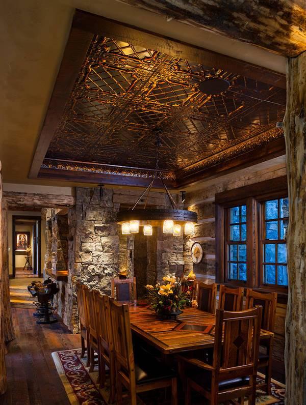 rustic ceiling tiles