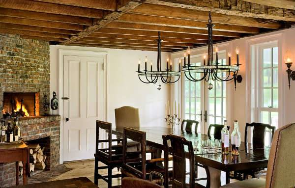 rustic dining room chandelier ideas
