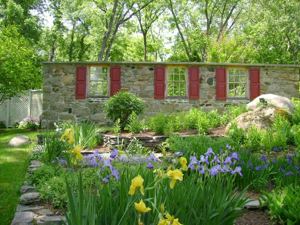 Rustic Garden Window Design