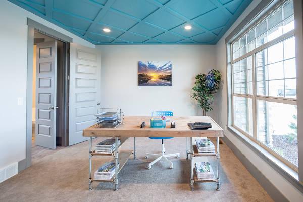 rustic reception desk design ideas