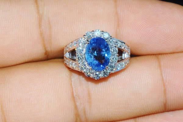 sapphire diamond ring designs