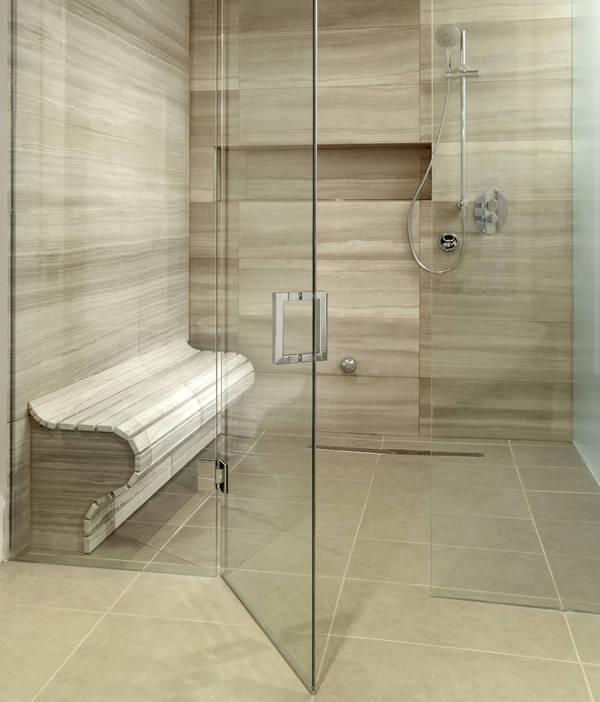 shower bench designs