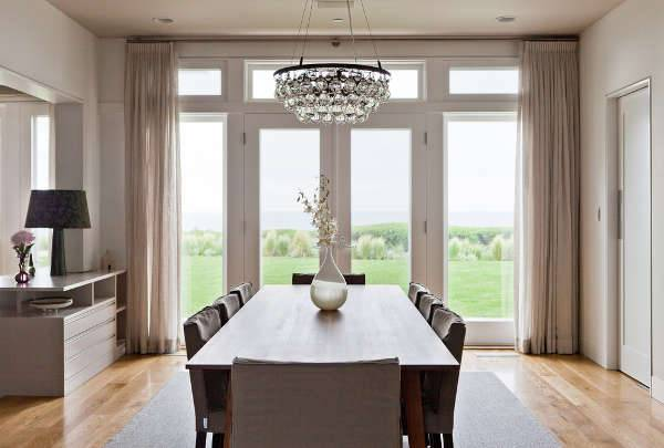 simple crystal dining room chandeliers