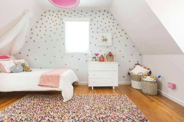 simple white kids bedroom furniture