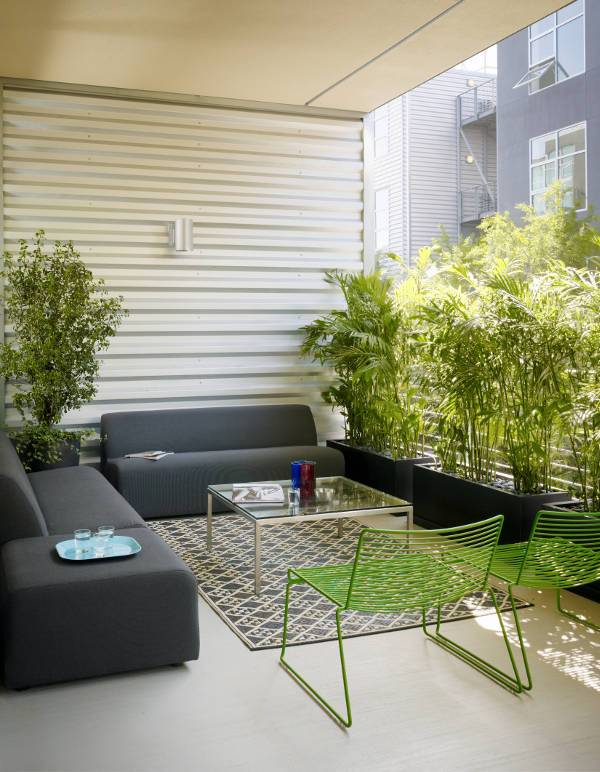 simple and appealing patio