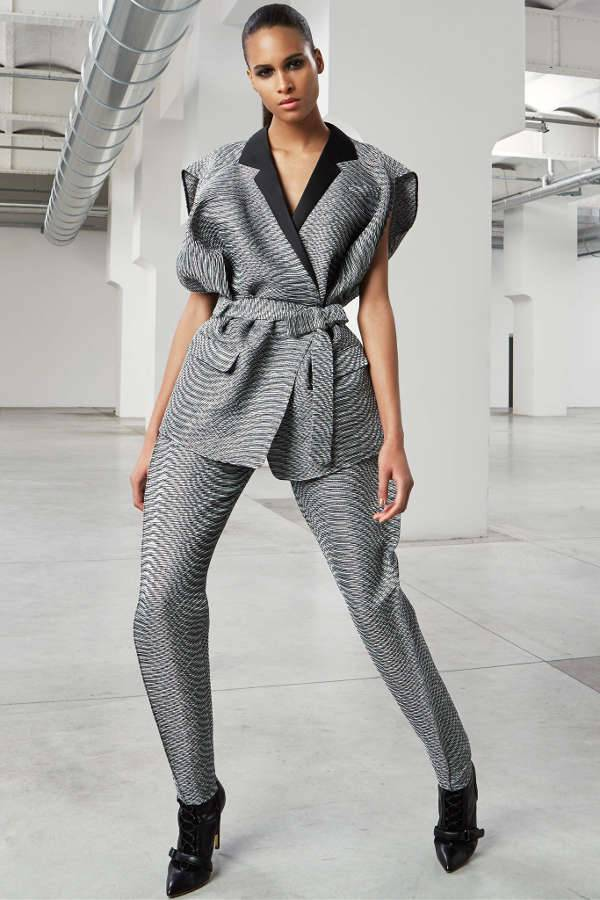 Sleeveless Belted Pantsuit