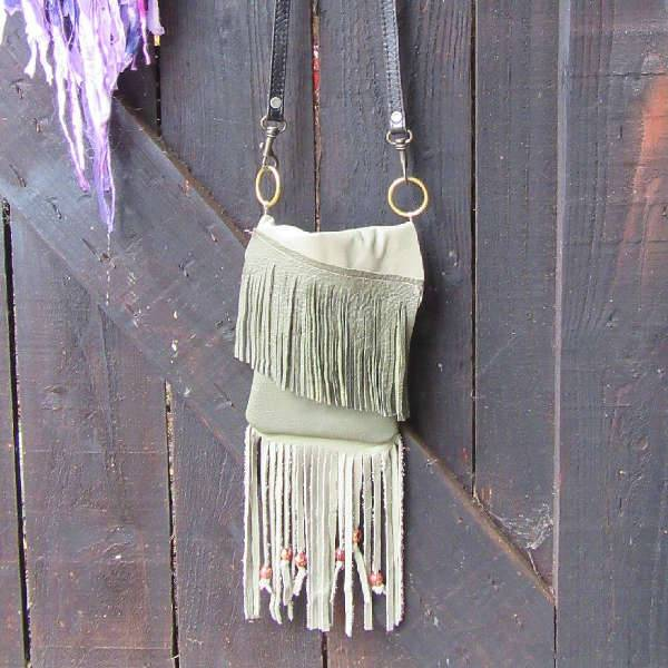 Small Fringe Handbag