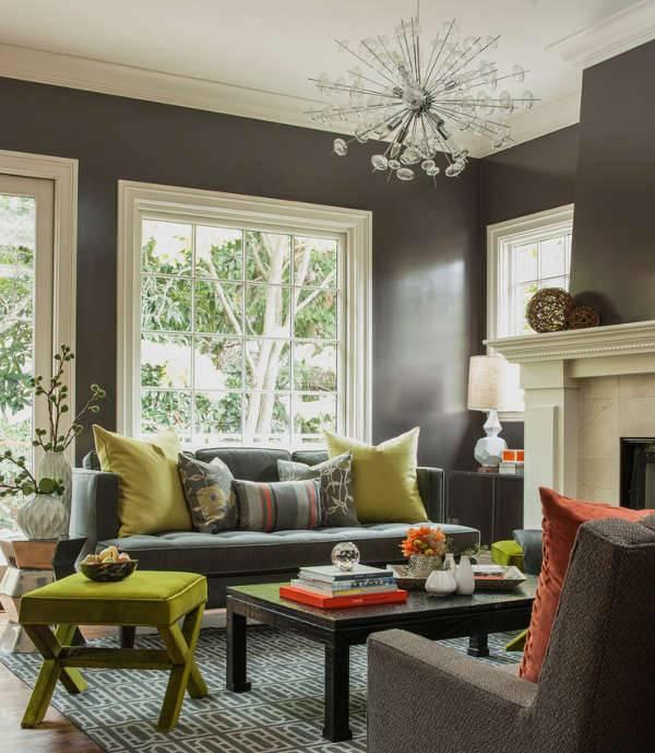 Small Living Room Lighting Idea