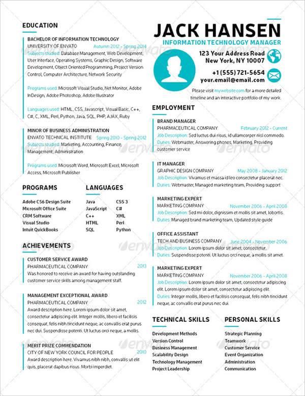 Student Resume Designs