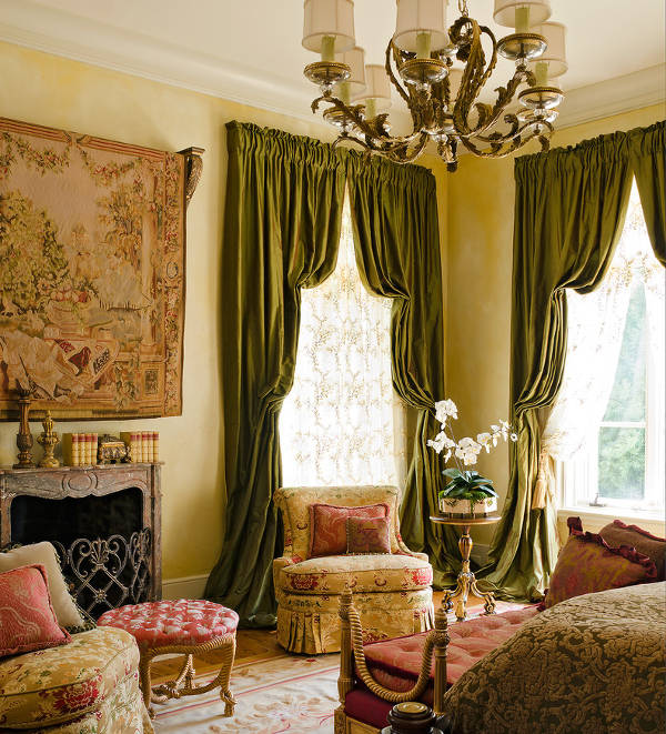 traditional curtain designs