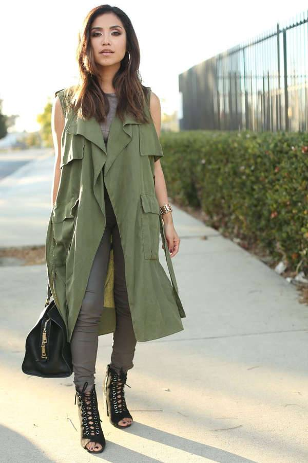 Trench it in Green
