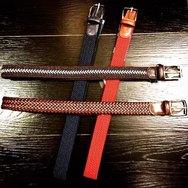 Trendy Braided Belt Design for Men