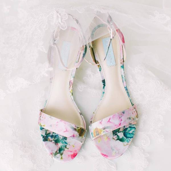 Trendy Floral Footwer Idea