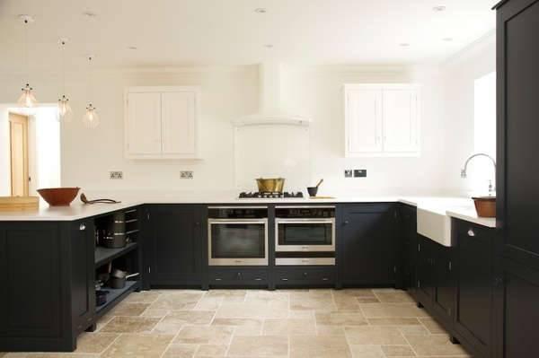tumbled travertine kitchen design1