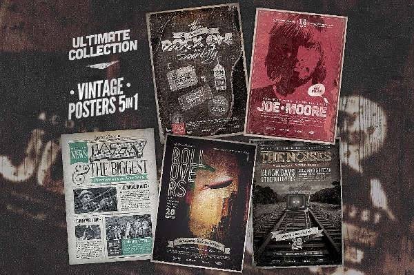 Ultimate Poster Design Collection