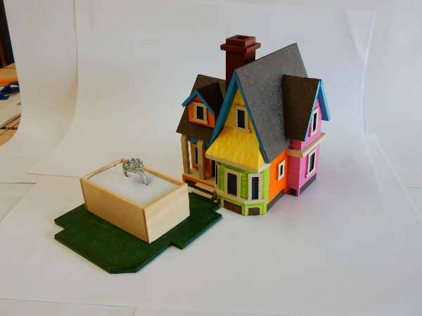 up house engagement ring box