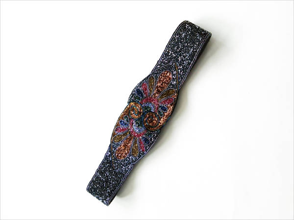 vintage beaded belt for women