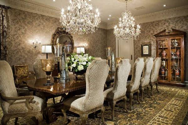 vintage dining room chandelier design ideas