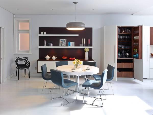 White Dining Table Design