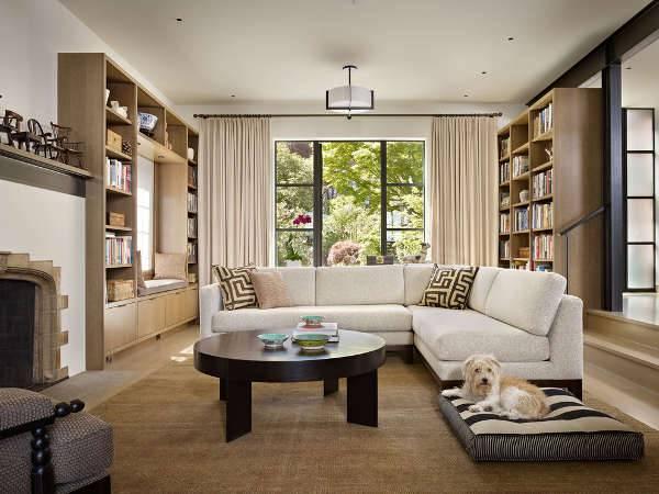 white small sectional sofa design