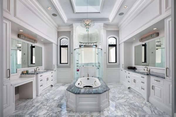 White Vanity Cabinet Designs